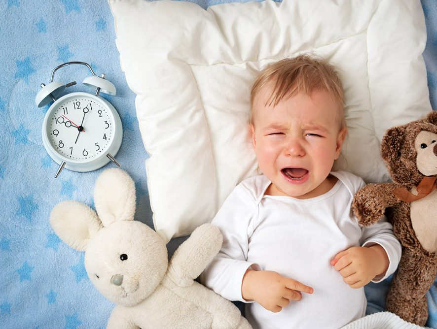Things to do if your baby does not get enough sleep