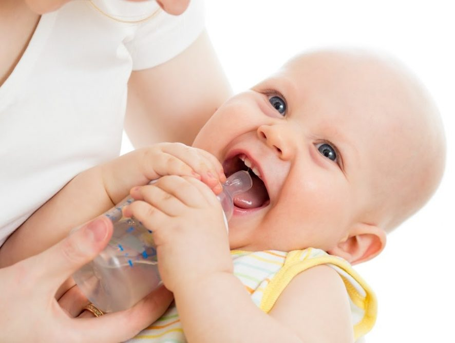 Water consumption in babies
