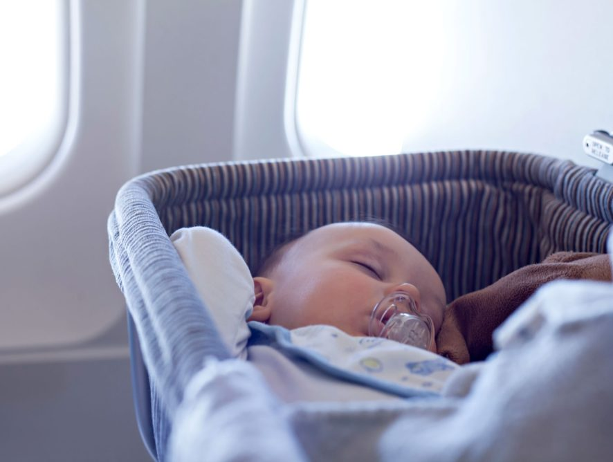 Tips when flying with your baby